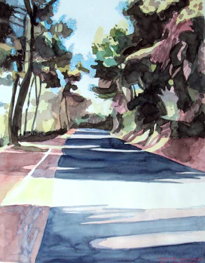 STREET TO CONNA, 64x50, 2011