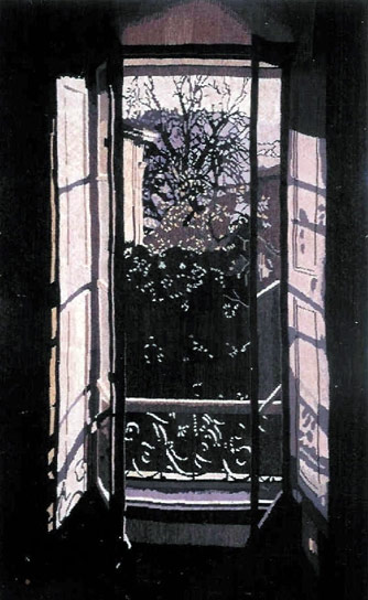 FENSTER IN BARGEMON, 192x118, 1997