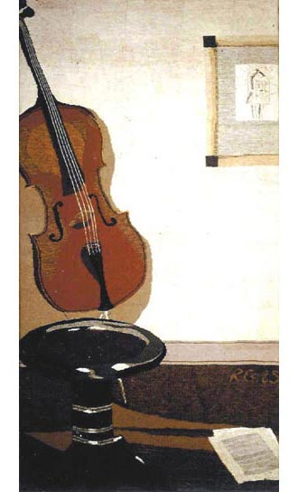 CELLO OF JULIUS, 200x100, 1985