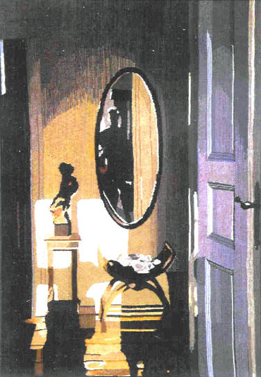 INTERIOR WITH MIRROR, 199x130, 1998