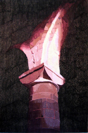 CAPITAL IN EVENING LIGHT, 150x90, 2002