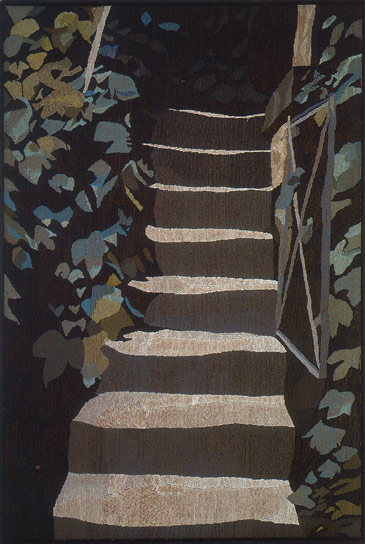 STAIRS IN POTSDAM II, 187x133, 1992
