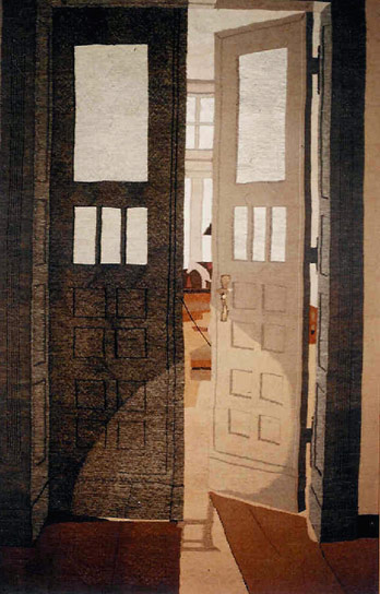 TWO-WINGED DOOR, 237x150, 1985