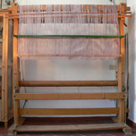 The loom stands ready for a new work